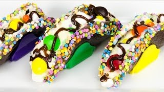 How to Make Chocolate Tacos from Cookies Cupcakes and Cardio - YouTube