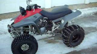 2. 1996 Yamaha Warrior With a 2008 Raptor 350 Engine