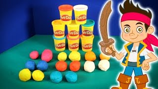 Like & Subscribe to KidsGamesGaloreHD. Today we're unboxing Crashlings Play-Doh Surprise Eggs, Jake and the Never Land Pirates from Disney.  Learn about the different colors in this Play-Doh episode as well as see all the different types of Crashling toys hidden inside.  Can you spot Jake from the Neverland Pirates?Music By Kevin Macleod (Carefree)