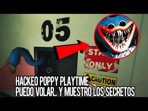 HACKEO POPPY PLATIME ! SALGO DEL MAPA VOLANDO Y ENCUENTRO LOS SECRETOS MAS OSCUROS | BERSGAMER