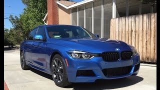 2016 BMW 340i M-Sport - One Take by The Smoking Tire