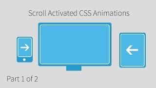 Scrolling Activated CSS3 Animation Tutorial (1 Of 2)