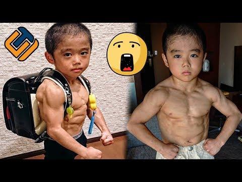 10 Anak Terkuat Yang Memiliki Body Atletis