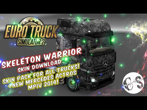 Skeleton Warrior Skin Pack for All Trucks