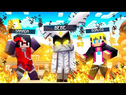 Who's Your Family? O FILHO DO BORUTO E DA SARADA VIROU O URASHIKI OTSUTSUKI no Minecraft ‹ JHONy3 ›
