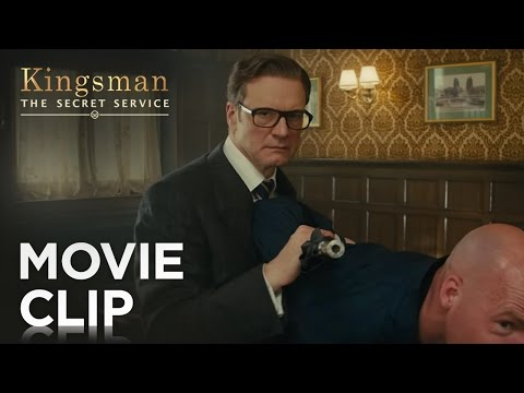 Kingsman: The Secret Service (Clip 'Bar Fight')