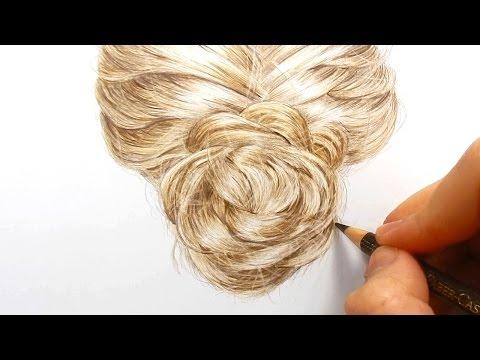 Kuinka piirretään aidon näköiset hiukset – katso nopeutettu video