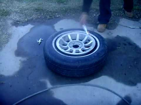 rim tyre - http://www.lildemonskennels.com/home.html OK SO I PUT THIS USED TIRE ON THE RIM AND THE TIRE WAS NOT GETTING AIR AND I REMEMBER THAT MY UNCLE DID THIS TRICK ...