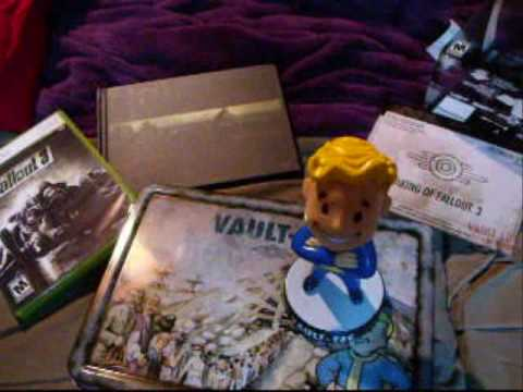 Fallout 3 Collectors Edition unboxing