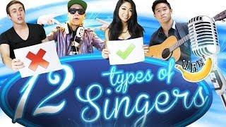 Video 12 Types of Singers MP3, 3GP, MP4, WEBM, AVI, FLV Juli 2018