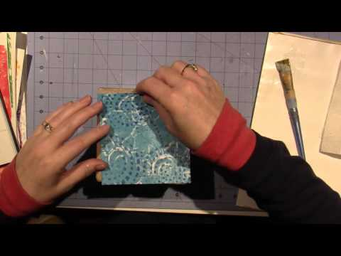 Collage tissue Box Tutorial; Part 1