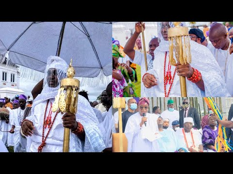 Olojo Festival 2020 || Ife Stands Still As Ooni Of Ife, Gov. Oyetola & Other Dignitaries Celebrate
