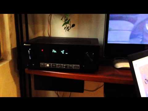 Sound system new test (Pioneer vsx-528 AV receiver / Yamaha NS-333 / Yamaha YST-SW030 Subwoofer )