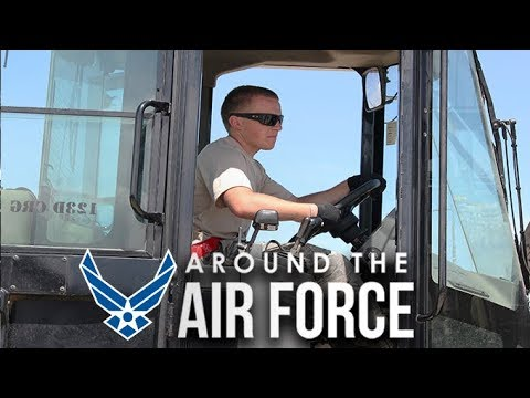 Around the Air Force: Hurricane Relief / Continuum of Learning / General Spencer