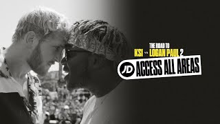 JD Access All Areas | The Road to KSI vs Logan Paul 2