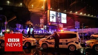 Istanbul new year Reina nightclub attack 'leaves 39 dead' - BBC News