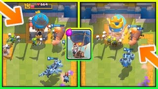 GIANT BALLOON DECK AFTER UPDATE!! NO LEGENDARY CARDS NEEDED! Arena 7 - 9 Deck + Strategy! All live ladder battles undefeated!! Level 6 getting to Frozen Peak...