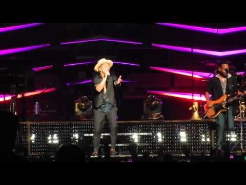 Bruno Mars live in Sydney 11/03/14