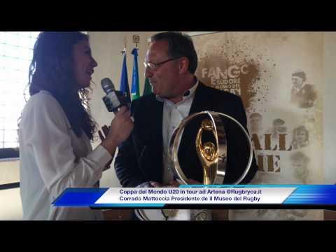 Coppa del Mondo U20: il Trofeo in tour ad Artena