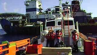 Kemaman Malaysia  city photos : Offshore Job..CB. RAMUNIA OCEAN 1 ( PANAMA flag) @ Kemaman Malaysia