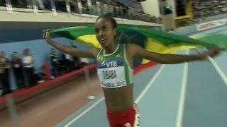 Genzebe Dibaba Win 1500m Championship