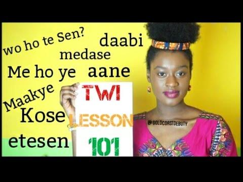 Learning Twi (Language) Lesson 101 | #yearofreturn2019 #Ghana #IndependenceDay