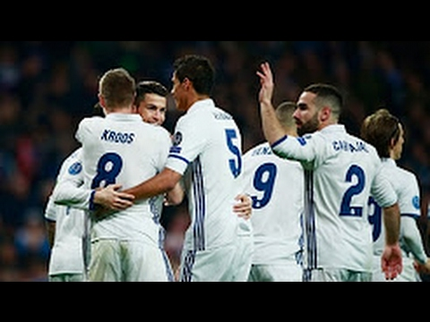 Real Madrid vs Napoli 3-1 (UCL 2016-2017) - All Goals & Highlights
