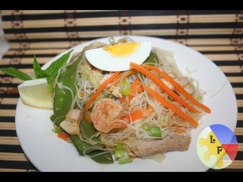 Lutong Pinoy - Pancit Bihon Guisado or rice sticks noodles is one of the Filipinos favourite food specially pag may handaan or special occasion like birthday, it is easy to...