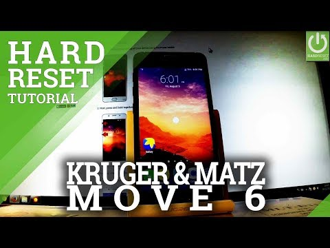 Hard Reset KRUGER & MATZ Move 6 KM0437 – Restore Settings / Delte Data