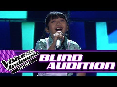 Glenda - Bento | Blind Auditions | The Voice Kids Indonesia Season 3 GTV 2018 (видео)