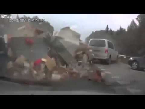 Лобовая авария с VW Multivan