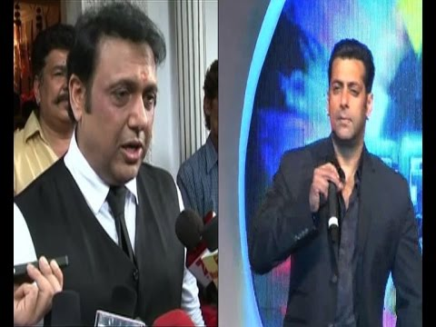 SALMAN - Actor Govinda was recently in the news for refusing to do Salman Khan's remake of a Marathi film. While everyone is speculating on the matter and saying that things are not right between...