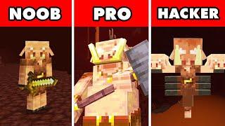 Noob vs. Pro vs. Hacker : MUTANT PIGLIN 1.16 UPDATE! In Minecraft Animation