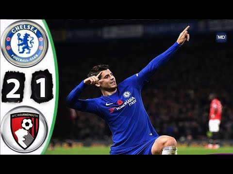 Chelsea vs Bournemouth 2-1 All Goals & Extended Highlights EFL Cup 20/12/2017 HD
