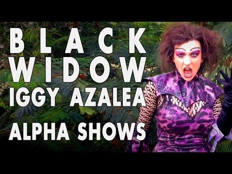 Black Widow - Iggy Azalea ft Rita Ora PARODY Maleficent & Madame Natalia Alpha Shows