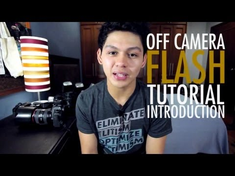 Strobist Tutorial: Off Camera Flash Photography Introduction