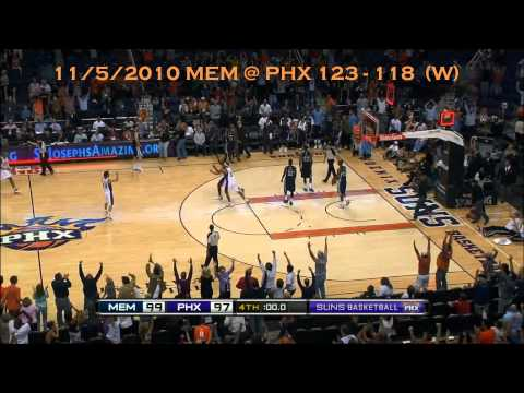 Suns best Buzzer Beaters of 2011!