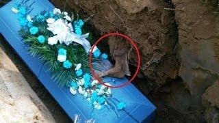 Video Pelayat Panik! Ketika Peti Mati Dimasukkan ke Liang Lahat, Muncul Benda Aneh dari Tanah MP3, 3GP, MP4, WEBM, AVI, FLV Agustus 2017