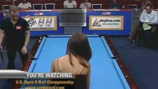Billiards Pool US Open 9-Ball Championship Immonen-Paez