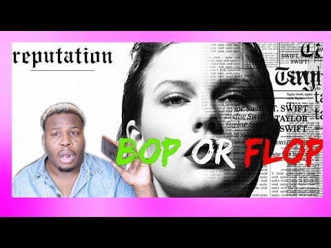 "TAYLOR SWIFT ""REPUTATION"" ALBUM REACTION! (IS IT A BOP!?)