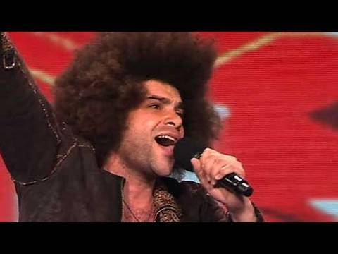 Afro - The X Factor 2009: Jamie Archer AKA Jamie Afro has never had his chance to break into music, despite it being a lifelong dream. Will he get that chance today...