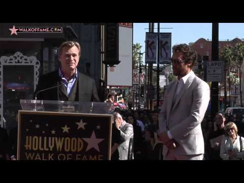 Matthew McConaughey Walk of Fame Ceremony