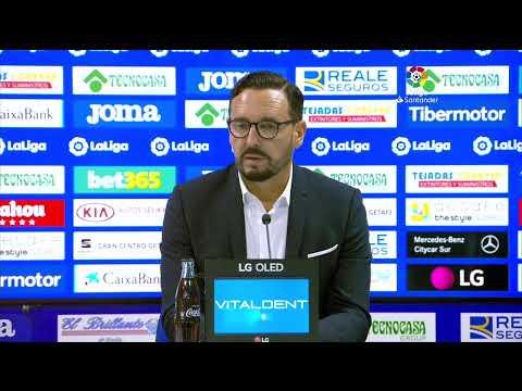 Rueda de prensa Getafe CF vs FC Barcelona