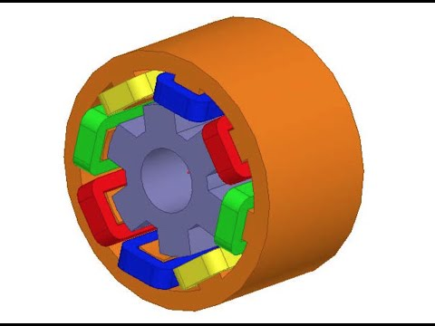210- Ansys Maxwell - Simulating Reluctance Motor [part1]