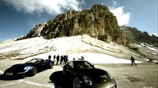 Making of - The new 911 Carrera 4 films