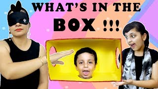 What's In The Box Challenge || Mom vs Daughter || #Kids Funny Videos || Aayu and Pihu Show
