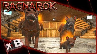 HYAENODON PUPPY & ALLOSAURUS TAME! :: ARK: Ragnarok Evolved :: Ep 37