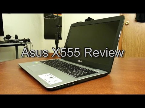 Asus X555 (940m) Review - Theje's Notebook Review