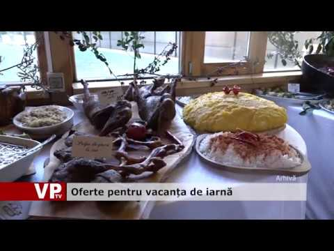 Oferte pentru vacanța de iarnă