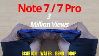 Redmi Note 7S | 7 | 7 Pro Durability Test | DROP SCRATCH BEND | Gupta Information Systems | Hindi